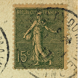 Une carte postale de 1917